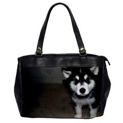 Alaskan Malamute Pup 3 Office Handbags