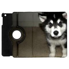 Alaskan Malamute Pup 3 Apple iPad Mini Flip 360 Case