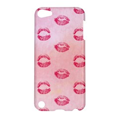 Watercolor Kisses Patterns Apple iPod Touch 5 Hardshell Case