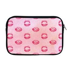 Watercolor Kisses Patterns Apple Macbook Pro 17  Zipper Case