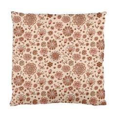 Retro Sketchy Floral Patterns Standard Cushion Case (Two Sides)