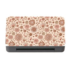 Retro Sketchy Floral Patterns Memory Card Reader with CF