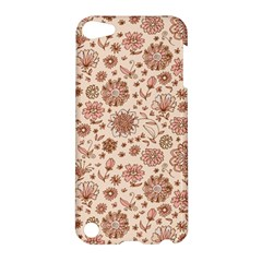Retro Sketchy Floral Patterns Apple iPod Touch 5 Hardshell Case