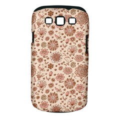 Retro Sketchy Floral Patterns Samsung Galaxy S III Classic Hardshell Case (PC+Silicone)