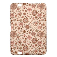 Retro Sketchy Floral Patterns Kindle Fire HD 8.9