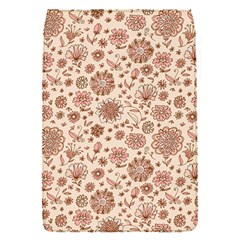 Retro Sketchy Floral Patterns Flap Covers (S)