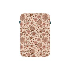 Retro Sketchy Floral Patterns Apple iPad Mini Protective Soft Cases