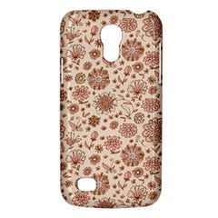 Retro Sketchy Floral Patterns Galaxy S4 Mini