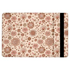 Retro Sketchy Floral Patterns iPad Air Flip