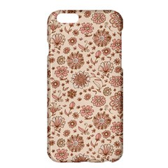 Retro Sketchy Floral Patterns Apple iPhone 6 Plus/6S Plus Hardshell Case