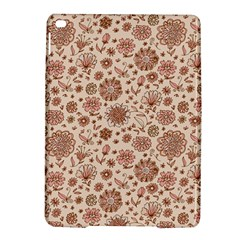 Retro Sketchy Floral Patterns iPad Air 2 Hardshell Cases