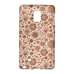 Retro Sketchy Floral Patterns Galaxy Note Edge