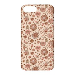 Retro Sketchy Floral Patterns Apple iPhone 7 Plus Hardshell Case