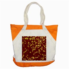 Background Design Leaves Pattern Accent Tote Bag