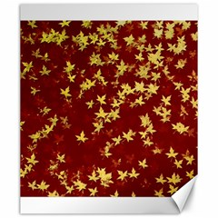 Background Design Leaves Pattern Canvas 20  x 24