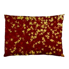 Background Design Leaves Pattern Pillow Case (Two Sides)
