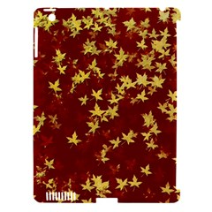 Background Design Leaves Pattern Apple iPad 3/4 Hardshell Case (Compatible with Smart Cover)