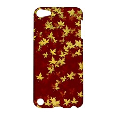 Background Design Leaves Pattern Apple iPod Touch 5 Hardshell Case