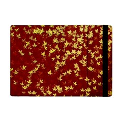 Background Design Leaves Pattern Apple iPad Mini Flip Case