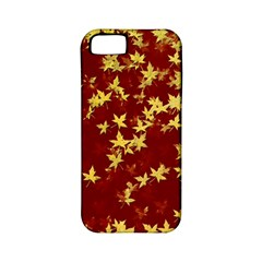 Background Design Leaves Pattern Apple iPhone 5 Classic Hardshell Case (PC+Silicone)