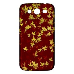 Background Design Leaves Pattern Samsung Galaxy Mega 5 8 I9152 Hardshell Case