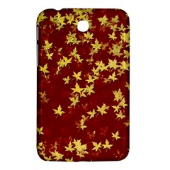 Background Design Leaves Pattern Samsung Galaxy Tab 3 (7 ) P3200 Hardshell Case
