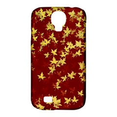 Background Design Leaves Pattern Samsung Galaxy S4 Classic Hardshell Case (PC+Silicone)