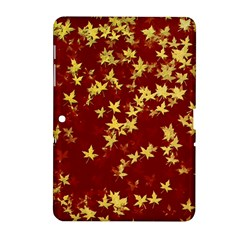 Background Design Leaves Pattern Samsung Galaxy Tab 2 (10.1 ) P5100 Hardshell Case