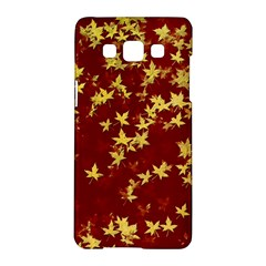 Background Design Leaves Pattern Samsung Galaxy A5 Hardshell Case