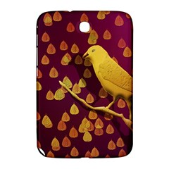 Bird Design Wall Golden Color Samsung Galaxy Note 8.0 N5100 Hardshell Case