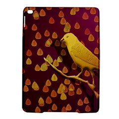 Bird Design Wall Golden Color Ipad Air 2 Hardshell Cases