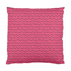 Background Letters Decoration Standard Cushion Case (Two Sides)