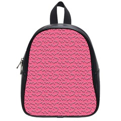 Background Letters Decoration School Bags (Small)