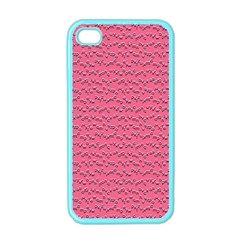 Background Letters Decoration Apple iPhone 4 Case (Color)