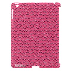 Background Letters Decoration Apple iPad 3/4 Hardshell Case (Compatible with Smart Cover)