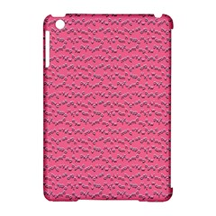 Background Letters Decoration Apple Ipad Mini Hardshell Case (compatible With Smart Cover)