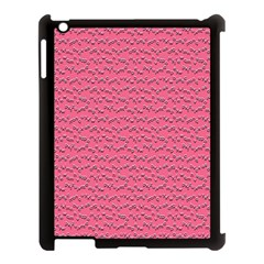 Background Letters Decoration Apple iPad 3/4 Case (Black)
