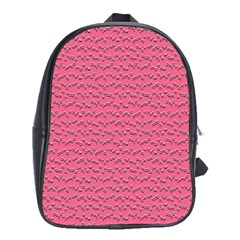 Background Letters Decoration School Bags (XL)