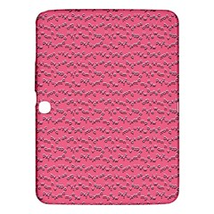 Background Letters Decoration Samsung Galaxy Tab 3 (10.1 ) P5200 Hardshell Case