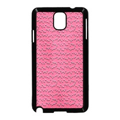 Background Letters Decoration Samsung Galaxy Note 3 Neo Hardshell Case (Black)