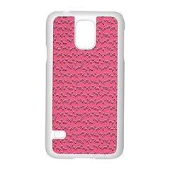 Background Letters Decoration Samsung Galaxy S5 Case (White)