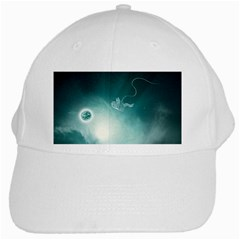 Astronaut Space Travel Gravity White Cap