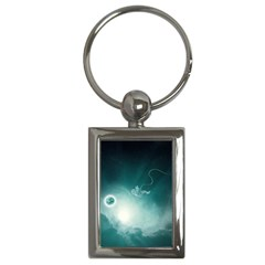 Astronaut Space Travel Gravity Key Chains (Rectangle)