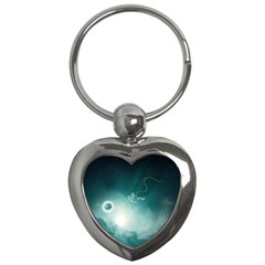 Astronaut Space Travel Gravity Key Chains (heart)