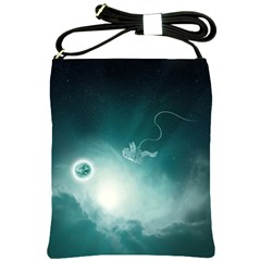 Astronaut Space Travel Gravity Shoulder Sling Bags