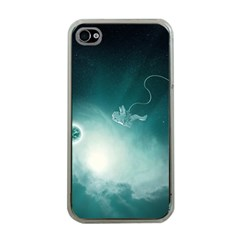 Astronaut Space Travel Gravity Apple iPhone 4 Case (Clear)