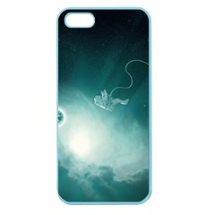 Astronaut Space Travel Gravity Apple Seamless iPhone 5 Case (Color)