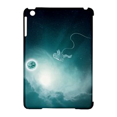 Astronaut Space Travel Gravity Apple iPad Mini Hardshell Case (Compatible with Smart Cover)