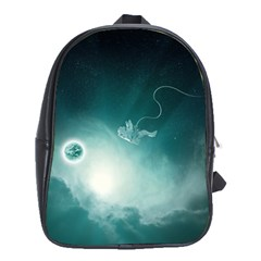 Astronaut Space Travel Gravity School Bags (XL)