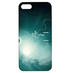 Astronaut Space Travel Gravity Apple iPhone 5 Hardshell Case with Stand